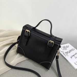 Double Belted Handbag